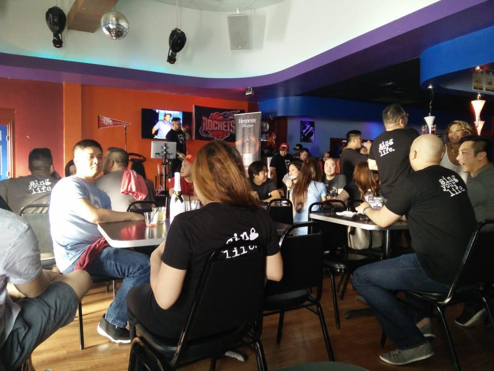 Glitter Karaoke Bar in Houston Texas