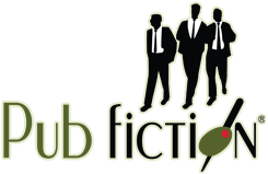 Pub Fiction Bar logo Houston Texas