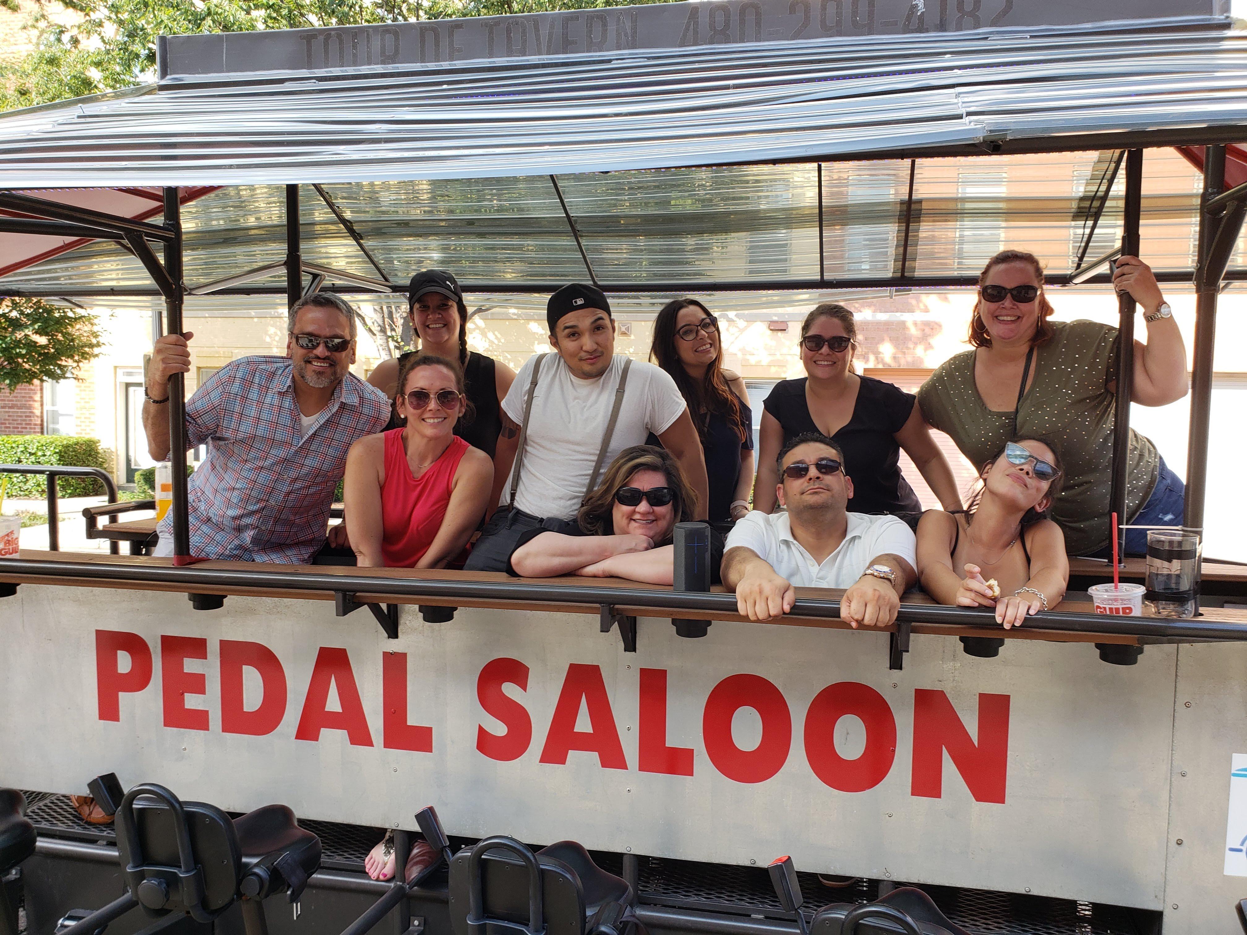 Pedal Saloon bike bar